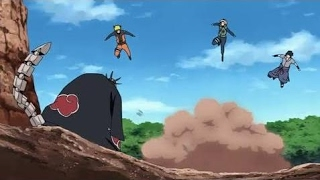Team 7 VS Deidara and Sasori - Full Fight (English Sub) HD
