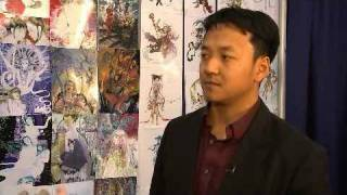 Comic Artist Guo Jingxiong at New York ComicCon
