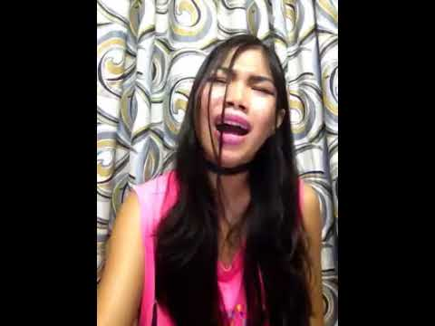 Pinay singing Japanese song FIrst love by Hikaru utada cover