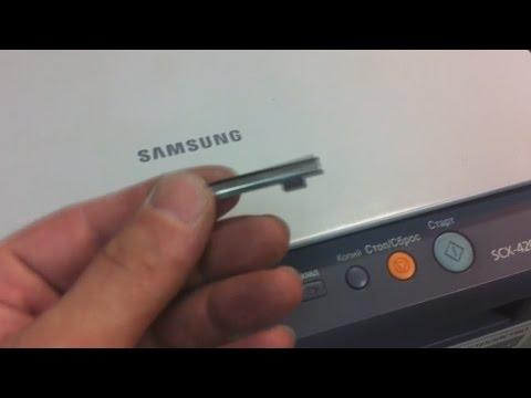 Как пользоваться принтером самсунг scx 4200