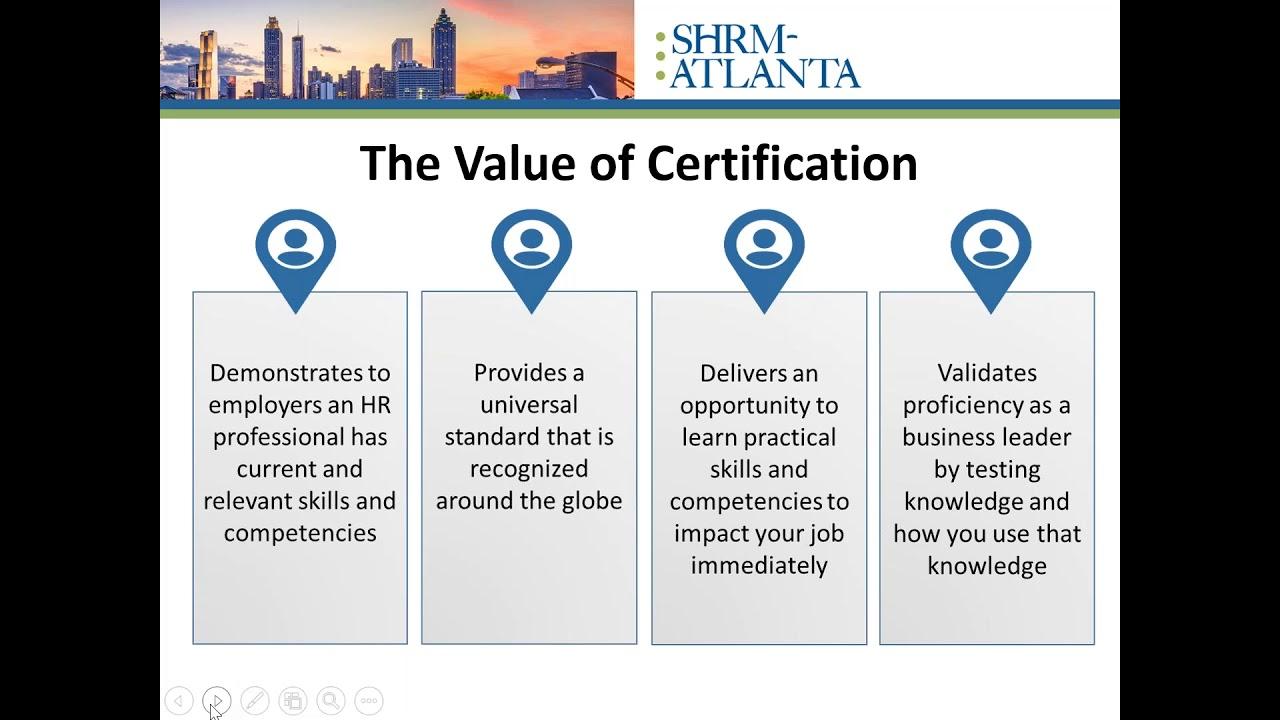 Info Session Shrm Atlanta Certification Exam Review Course Shrm