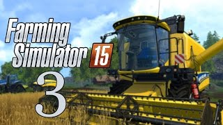 Let's Play Farming Simulator 15 - Part 3 - Gold Coins!