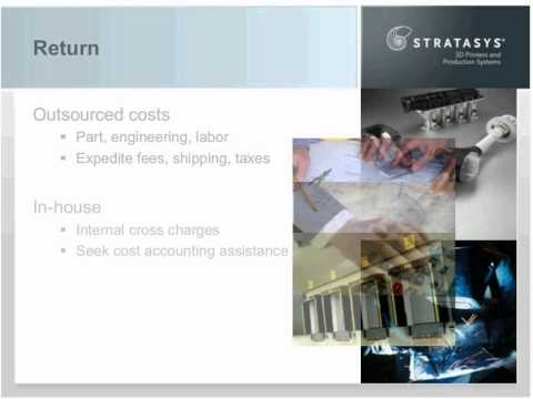 Stratasys - Rapid Prototyping System Cost Justification