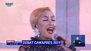Debat Cawapres 2019 Dibuka Lagu Indonesia Raya