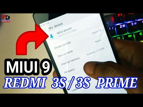 How to Root & install MIUI 9 China Beta ROM For REDMI 3S/Prime.
