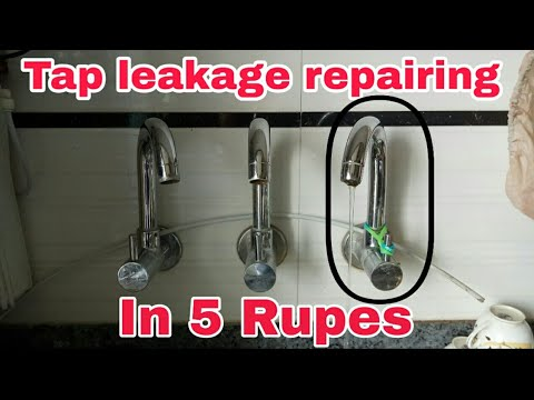 How to fix kitchen sink tap