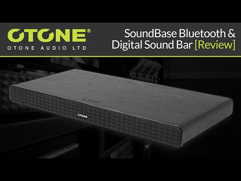 OTONE Audio SoundBase Bluetooth & Digital Sound Bar [Review]