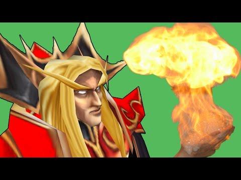 Warcraft 3 - Light It Up (4v4 RT #70)