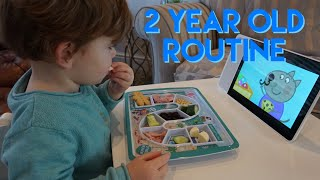 2 YEAR OLD ROUTINE | TODDLER DAILY ROUTINE