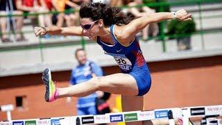 100m Hurdles at Spanish Championships 2018