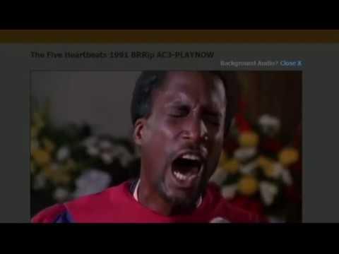 The five Heartbeats- I Feel Like going on! Eddie Cane  JR!!!!