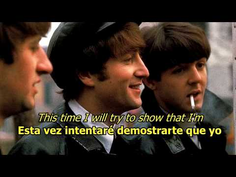 I'll Be Back - The Beatles (LYRICS/LETRA) [Original]