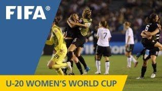 USA deny German rally to win U-20 crown