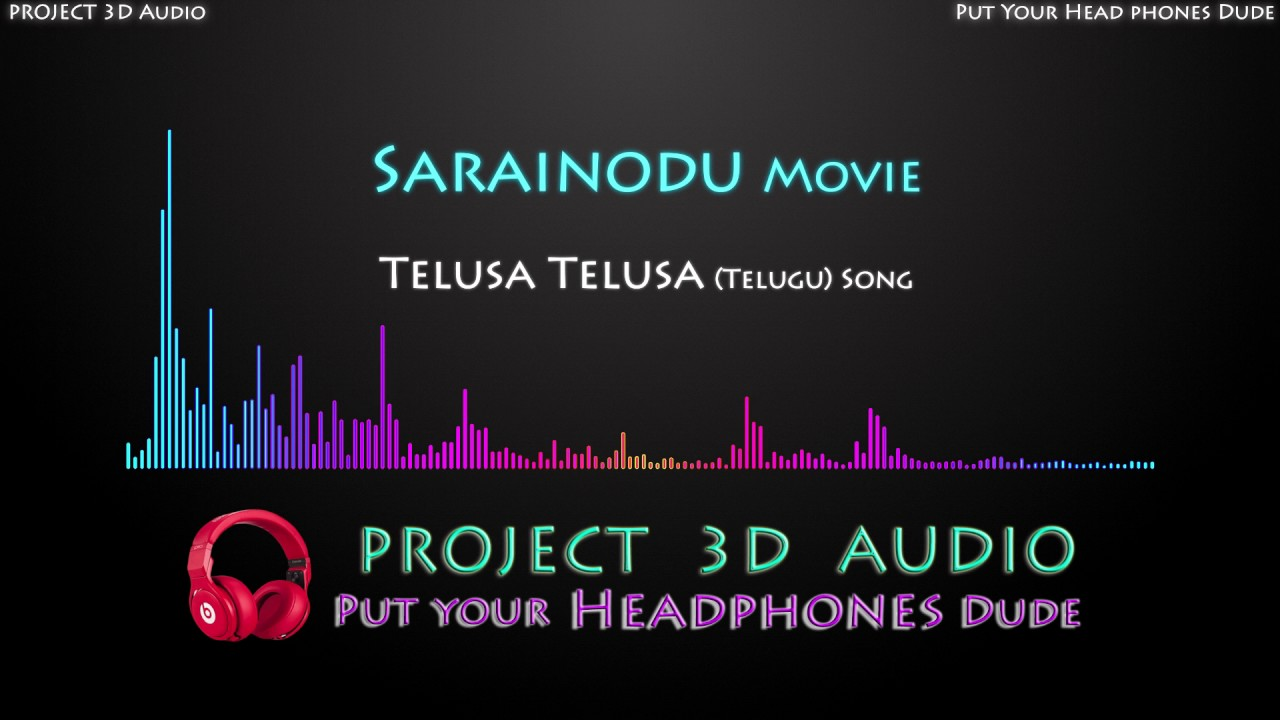how to make 3d audio