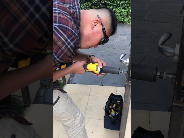 Custom Gate Lock Modification/Rekey Human Key Locksmiths Melbourne