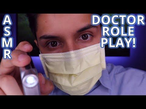 [ASMR] Doctor Role Play! (Cranial Nerve Exam!)