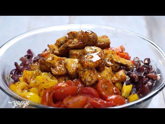 Fırında Sebzeli Tavuklu Salata Tarifi, Nasıl Yapılır?