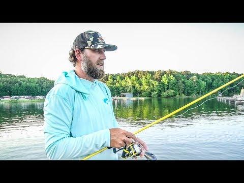 Drop-Shot Fishing With Luke Dunkin