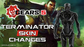 Gears 5 Operation 4 Patch Notes - Terminator Skin Changes and New Ally System