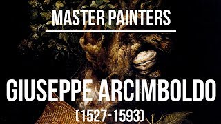 Giuseppe Arcimboldo (1527-1593) A collection of paintings and drawings 2K Ultra HD Silent Slideshow