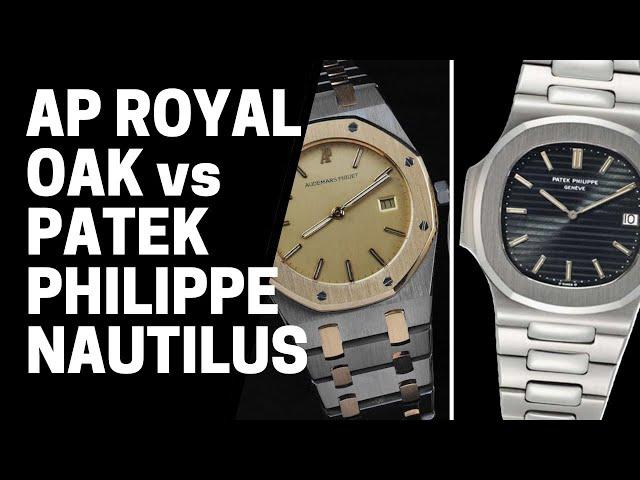 Audemars Piguet Royal Oak vs Patek Philippe Nautilus | SwissWatchExpo [Watch Guide]
