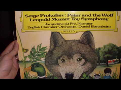 Prokofiev: Peter and the Wolf - Daniel Barenboim; English Chamber Orchestra; Jacqueline Du Pre