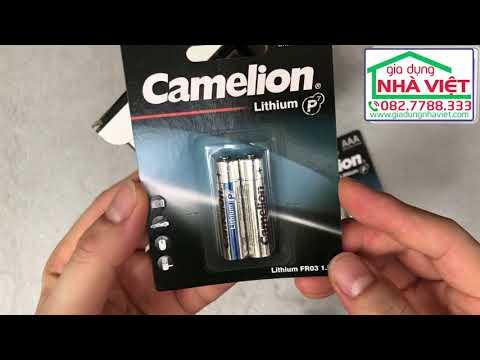 Pin đũa AAA siêu nhẹ Camelion Lithium P7 1.5v