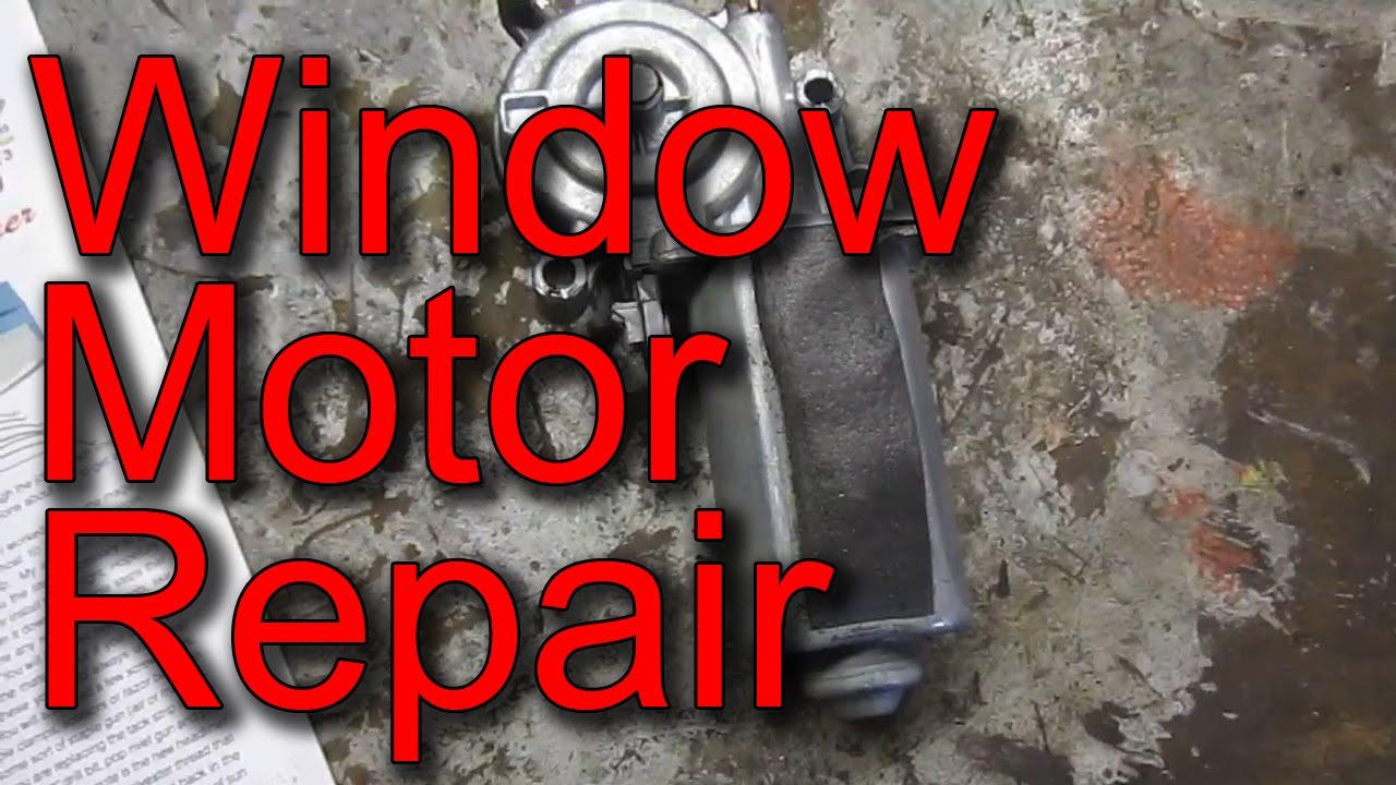 How to Replace and Repair 1995-2005 S-10, Blazer, Jimmy, Bravada  Window Motor (Regulator)
