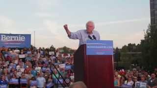 Bernie Sanders Reno, Nevada Rally August 18th 2015