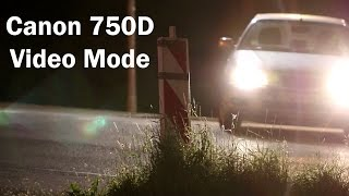 Canon 750D/T6i Video Mode Review(A Review specifically about the video mode of the Canon 750D/T6i. Topics: Video Settings, Auto focus, Audio, high ISO., 2015-06-01T21:37:29.000Z)