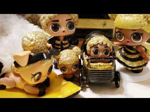 Queen Bee is having a BABY! New Boy LOL Doll?  Meet Junior Bee, our newest Boy!