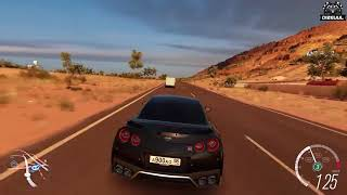 Forza Horizon 3 Online   Nissan GT R u0026 Mercedes Benz AMG GT R Ft  FTHY