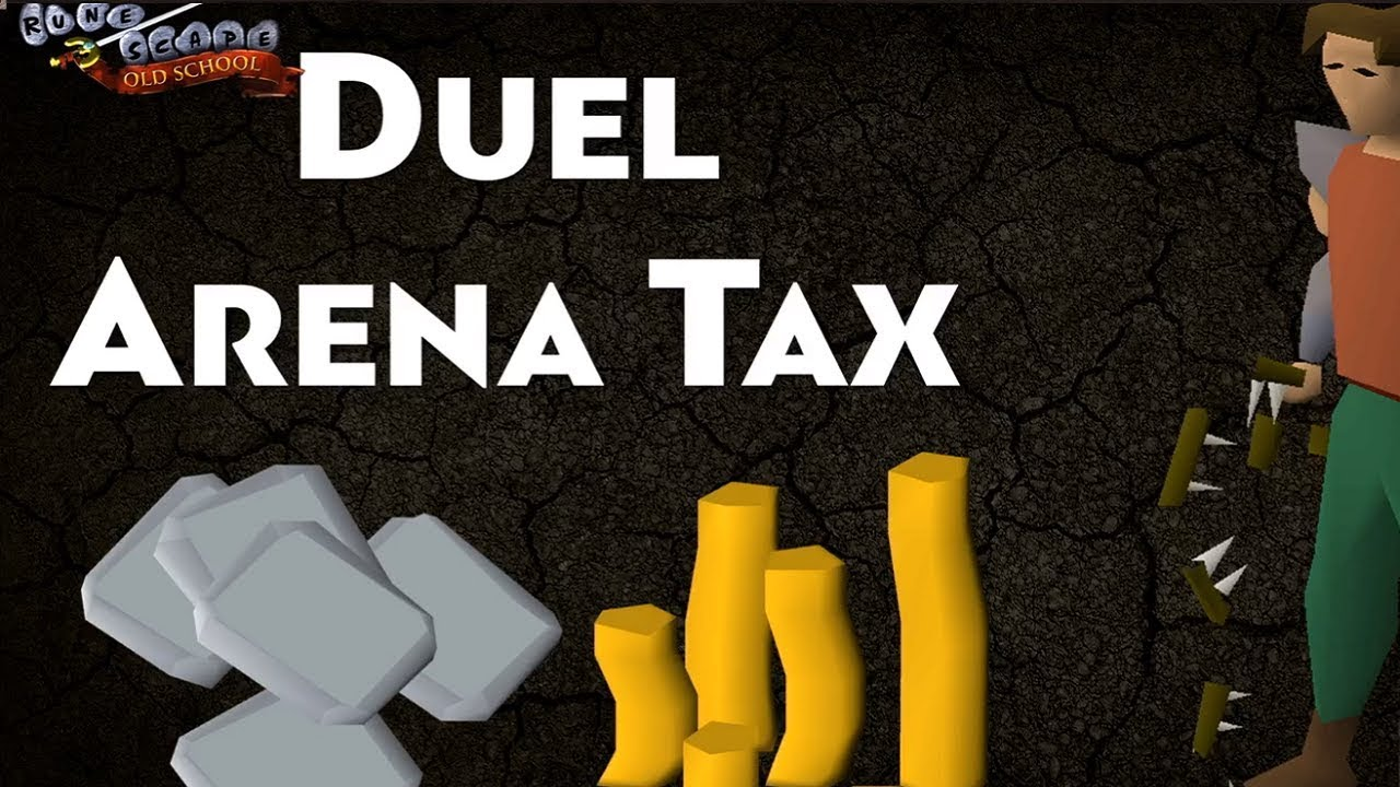 The Duel Arena Tax took 4 Trillion GP out of the Game (OSRS) (New Data)
