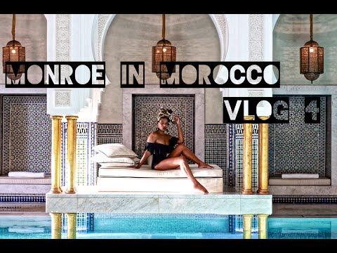 Monroe In Morocco VLOG Day 4 La Mamounia Marrakech