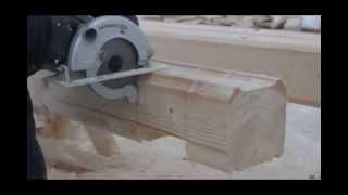 видео Дом из бруса – экологически чистое жилье