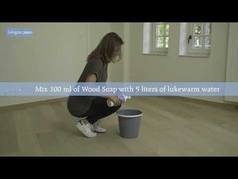 Maintenance instructions for oiled wooden floors