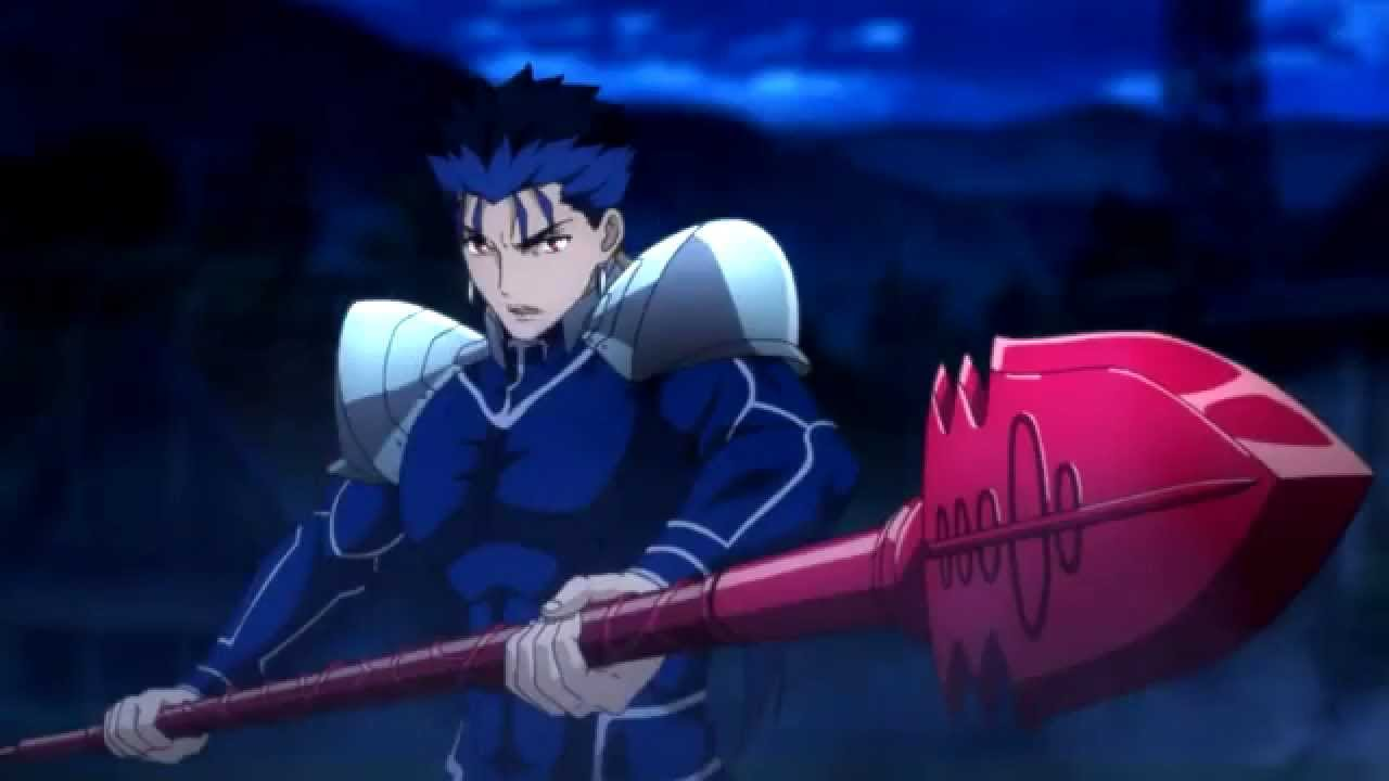 Fate Stay Night Archer Vs Lancer Epic Fight Youtube