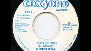 burning spear rocking time