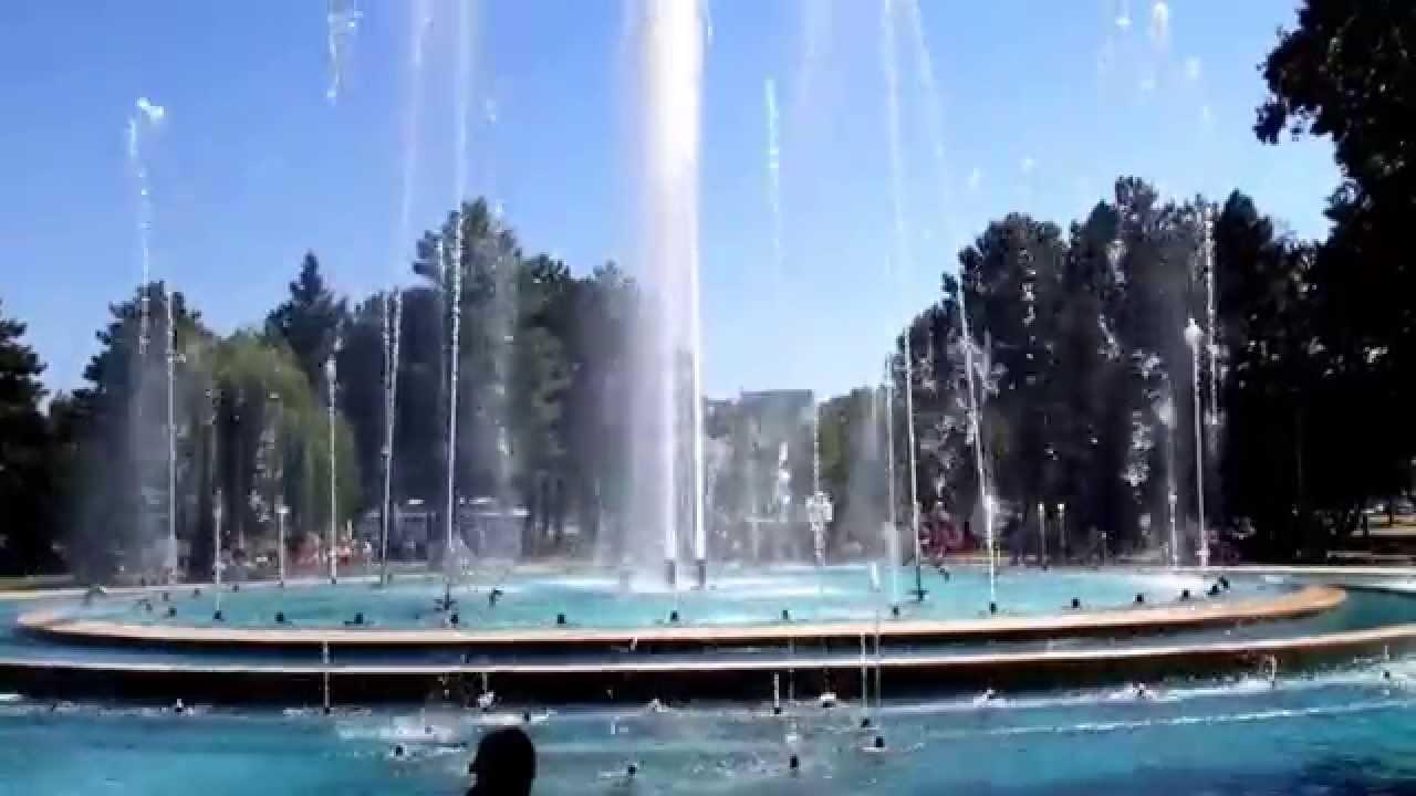 Budapest Isola Margherita fontana danzante - YouTube