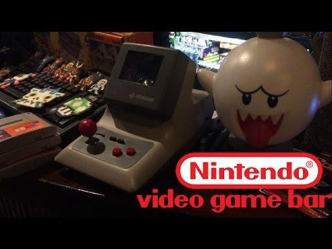 Nintendo themed video game bar | Osaka Japan