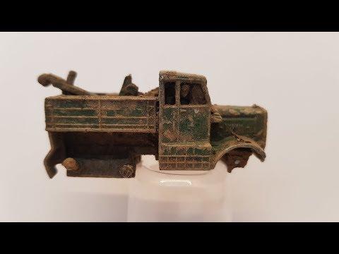 MATCHBOX Restoration No 64a Scammell Breakdown Truck 1959