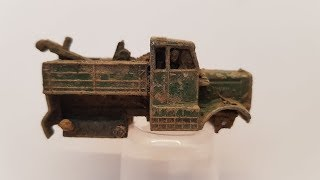 MATCHBOX Restoration No 64a Scammell Breakdown Truck 1959