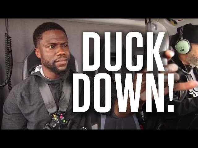 Helicopter Ride to Monaco   Kevin Hart Vlog