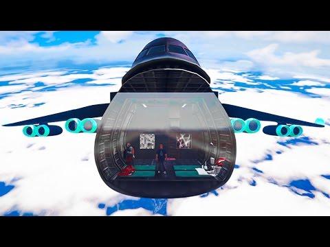 NEW FLYING $1.500.000.000 HOUSE! (GTA 5 Mods)