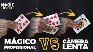 MÁGICO PROFISSIONAL vs SUPER CÂMERA LENTA