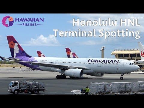 Honolulu HNL - Daniel K. Inouye Intl - B738, A332, B737, A321, B739, B764, B763, B772
