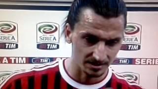 Milan-Lecce 2-0 Ibra Shock Contro Tutti [Intervista dopo Gara] 11-03-2012
