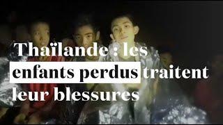 Thaïlande : les enfants de la grotte pansent leurs blessures et apprennent à plonger