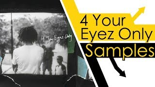 Every Sample From J. Cole's 4 Your Eyez Only
