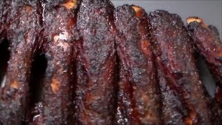"Smoked Bbq Beef Ribs ""texas Style"""